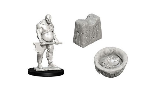 Dungeons & Dragons Nolzur`s Marvelous Unpainted Miniatures: Executioner & Chopping Block