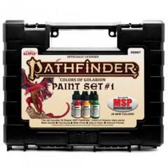 09967 - Reaper Pathfinder Colors of Golarion Paint Set #1