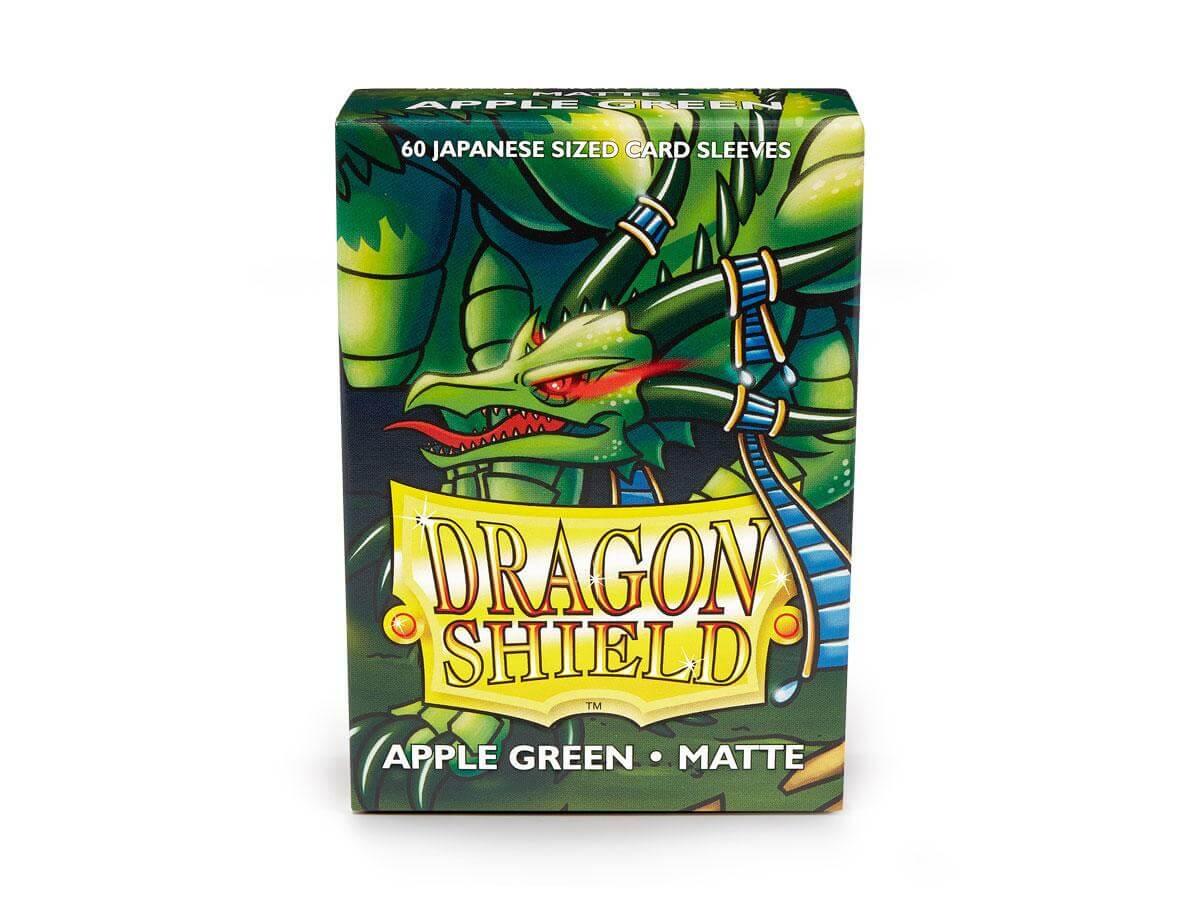 Dragon Shield 60ct Japanese Matte Green Apple Card Sleeves
