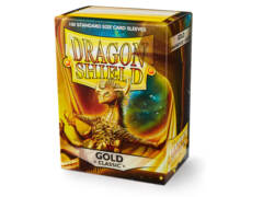 Dragon Shield: Standard Sleeves - Gold Classic (100ct)