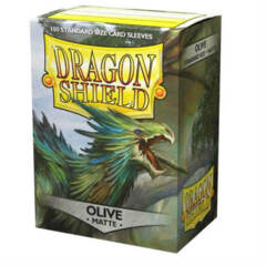 Dragon Shield Standard Sleeves - Matte Olive (100ct)