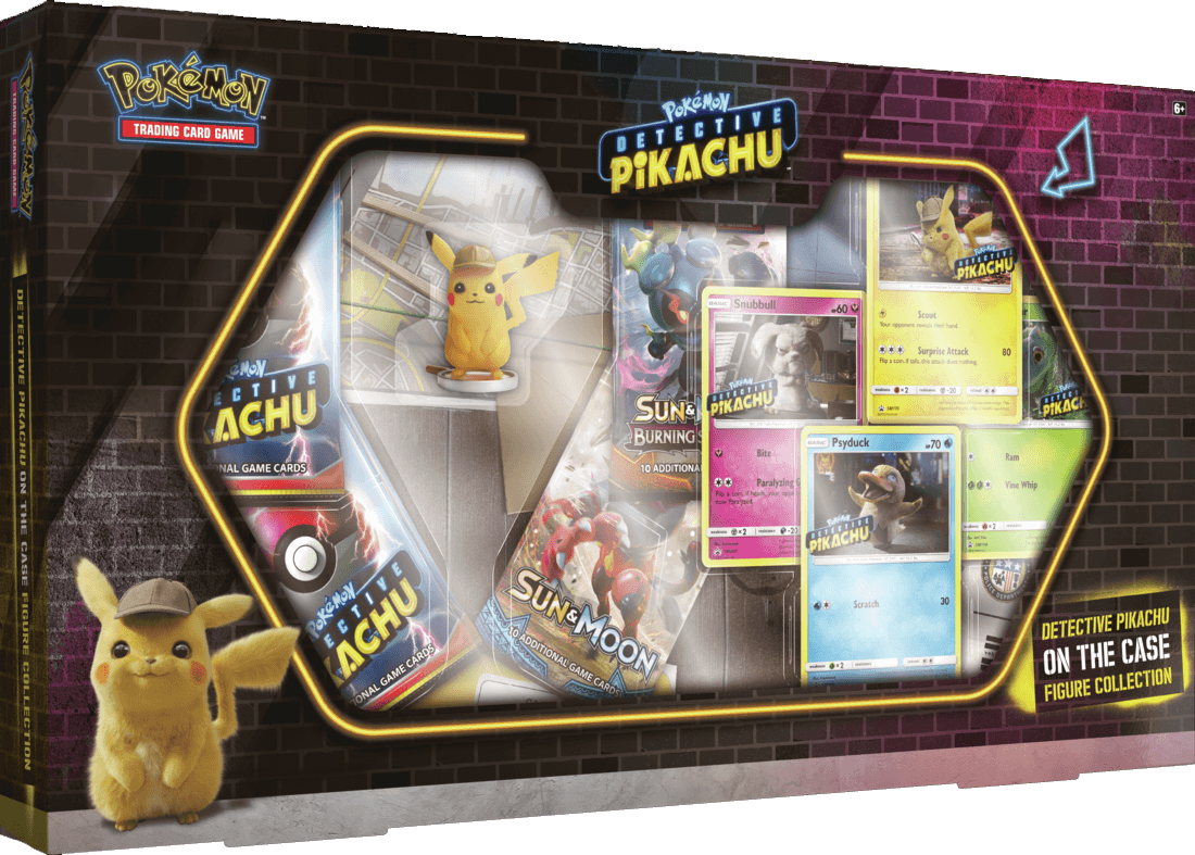 Pokemon - Detective Pikachu: On the Case Figure Collection