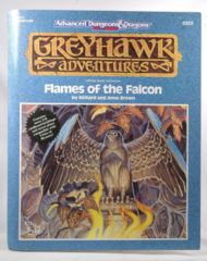 AD&D Greyhawk Adventures Flames of the Falcon