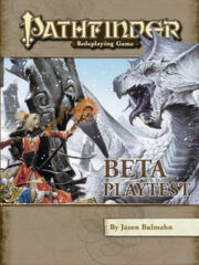 Pathfinder Roleplaying Game Beta Playtest