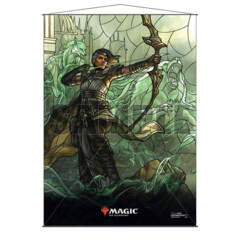 Stained Glass Planeswalkers Wall Scroll - Vivien