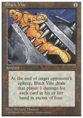 Black Vise - 4th Edition - Black Border