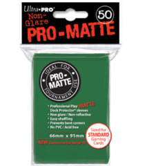 Ultra Pro: Standard Sleeves - Matte Green (50ct)
