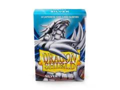 Dragon Shield 60ct Japanese Matte Silver Card Sleeves