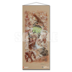 The Antiquities War Wall Scroll