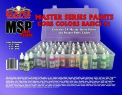 09952 - Reaper Master Series Paints: Core Colors Basics Set #1