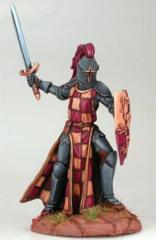 Male Knight with Sword and Shield DSM-1156