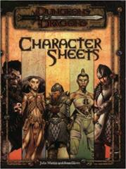 D&D Character Sheets 3.0