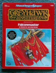 AD&D Greyhawk Adventures Falconmaster