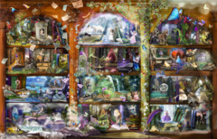 Enchanted Fairy Tale Library
