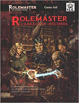 Rolemaster Character Records 1995