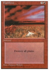 Flashfires - 4th Edition - Black Border