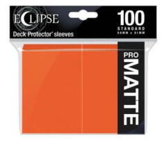 Ultra Pro Eclipse Pumpkin Orange Matte 100ct