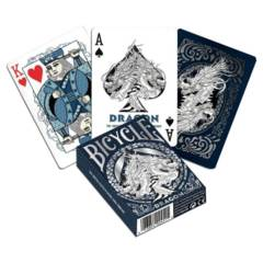 Playing Cards: Dragon (White)
