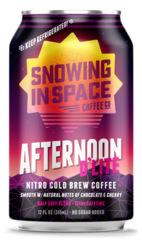 Snowing in Space Afternoon D'Lite