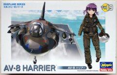 Hasegawa Eggplane Series: AV-8 Harrier (TH19)