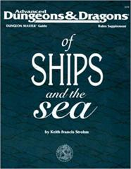 AD&D DM Guide of Ships and the Sea