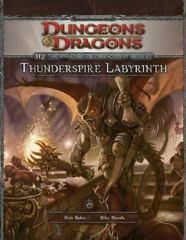 D&D Adventure: Thunderspire Labyrinth : Adventure H2 by Richard Baker