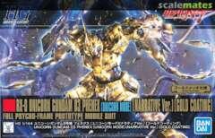 Bandai #227 Unicorn Gundam 03 Phenex Unicorn Mode (NT Ver.) [Gold Coating]