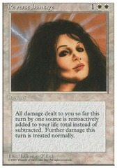 Reverse Damage - 4th Edition - Black Border