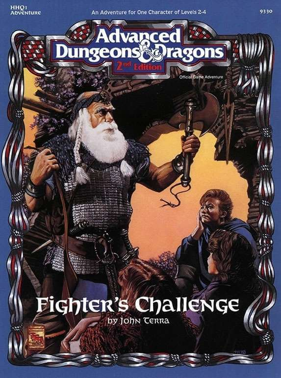 Advanced Dungeons & Dragons (2nd Ed.): Fighters Challenge