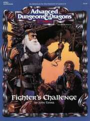 Advanced Dungeons & Dragons (2nd Ed.): Fighter's Challenge