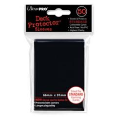 Ultra Pro: Standard Sleeves - Black (50ct)