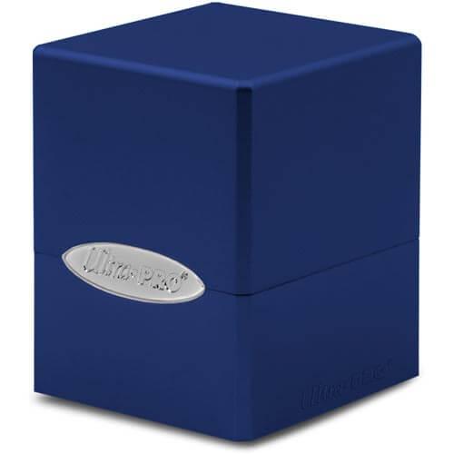 Satin Cube: Pacific Blue
