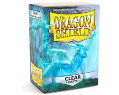 Dragon Shield: Standard Sleeves - Clear Matte (100ct)