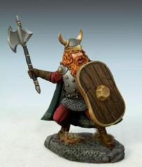 Male Dwarven Warrior with Battle Axe DSM-1184