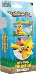 Let's Play Pikachu Theme Deck