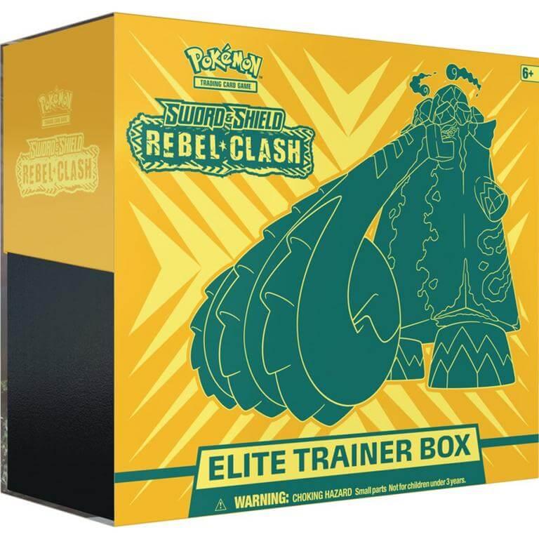 Pokemon - Sword & Shield: Rebel Clash Elite Trainer Box