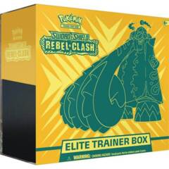 Pokemon - Sword & Shield: Rebel Clash Elite Trainer Box