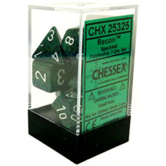 CHX 25325 - 7 Polyhedral Recon Speckled Dice