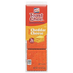 Toast Chee Sandwich Crackers Cheddar Cheese
