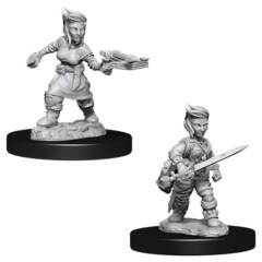 Dungeons & Dragons Nolzur`s Marvelous Unpainted Miniatures: Halfling Female Rogue