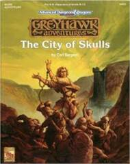 AD&D Greyhawk Adventures: The City of Skulls