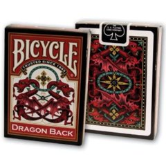 Playing Cards: Dragon (Red or Blue)