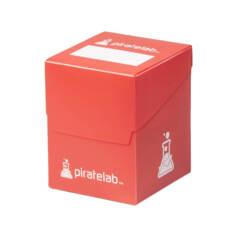 Pirate Lab 120-Card Deck Box - Red