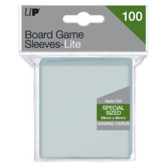 Lite Board Game Sleeves 69mm x 69mm 100ct
