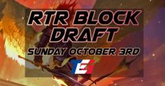 Return to Ravnica Block Draft - Sunday October 3rd