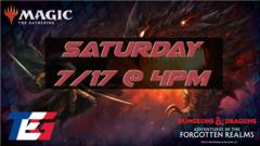 Saturday 7/17 Adventures in the Forgotten Realms Prerelease 4PM