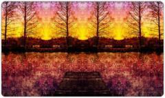 Lake Rosemound Sunset Playmat mat86