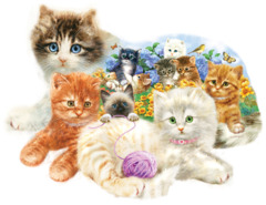 A Litter of Kittens 1000 pc Puzzle