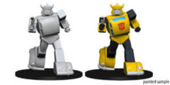 Transformers Deep Cuts Unpainted Miniatures: Bumblebee