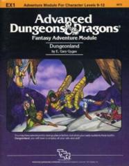 AD&D - EX1 - Dungeonland